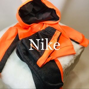 Two piece jogger for little boy by Nike